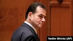 Ludovic Orban, după votul în urma căruia a fost demis Guvernul său