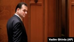 Premierul în exerciţiu Ludovic Orban