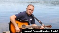 Николай Попов, коренной кежмарь. Ангара, 2012 г.