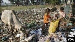 Siromaštvo u Indiji