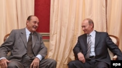 Путин Ширакка Русиянең дәүләт бүләге тапшырылу хәбәрен җиткерә