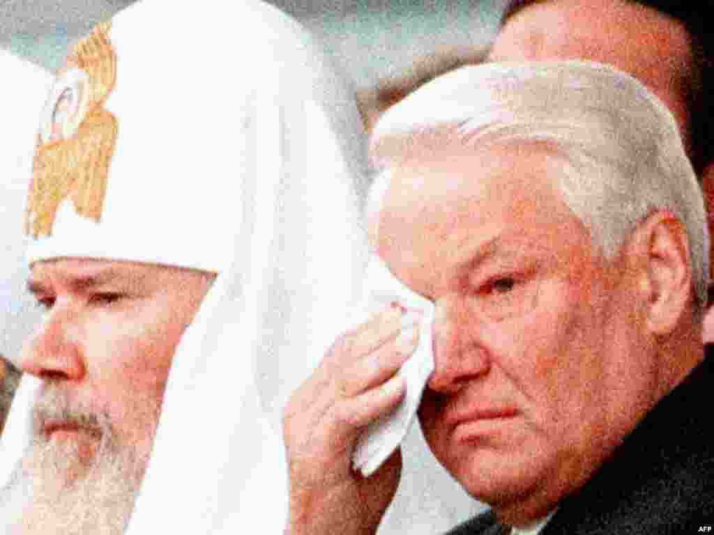 On June 7, 1990, the Russian Orthodox Church's Pomestny Sobor, or Council of Bishops, elected Aleksy patriarch and ascended to the post on June 10, 1990.