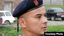 Гражданин Узбекистана Шавкат Мухаммад, который служил в качестве добровольца в составе батальона «Айдар» при минобороны Украины.