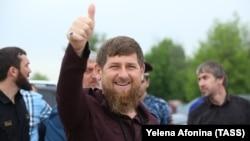 Глава Чечни Рамзан Кадыров не прочь сыграть на публику