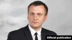 Дырэктар Астрынскай сярэдняй школы Сяргей Бадылеўскі