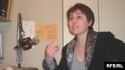 «Орталық Азиядағы адам құқығы» ассоциациясының жетекшісі Надежда Атаева. Прага, 20 ақпан, 2009 жыл.