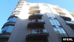 Новобудова у якій придбав квартиру депутат Сергій Лещенко. Київ, 7 вересня 2016 року
