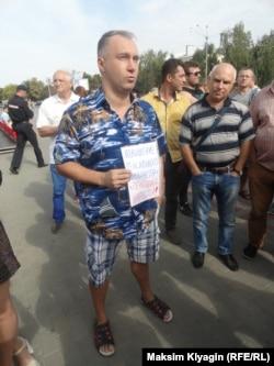 Константин на митинге в Орле