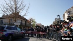 حضور پلیس فرانسه در صحنه قتل