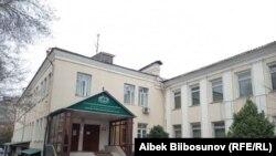 Кыргызстан мусулмандар башкармалыгы (муфтияттын) имараты.