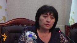 """Зумрад Солиева дар бораи """"гум"""" шудани полковник Ҳалимов"""