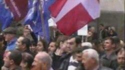 Грузия: Оппозициянын нааразылык чарасы