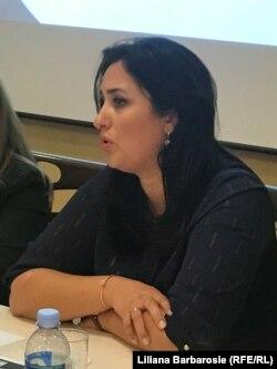Judecătoarea Victoria Sănduța