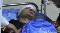 Գյումրիում վիրավորված ոստիկանը տեղափոխվել է Երեւան եւ վիրահատվել է