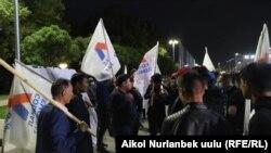 По данным ЦИК, кыргызские социал-демократы не преодолели 7-процентный барьер