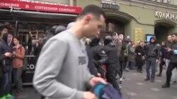 Суд в Петербурге арестовал на два месяца Михаила Цакунова за акцию 5 мая