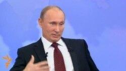 Putin canlı yayımda vətəndaşların suallarına cavab verib