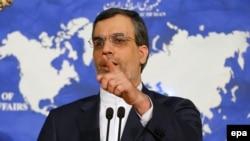 حسین جابری انصاری، سخنگوی وزارت خارجه ایران،