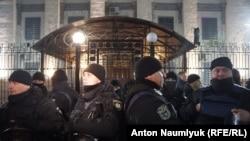 Акция у посольства России в Киеве