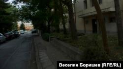 """Изглед от """"Латинка"""" 15 към 119 средно училище """"Акад. Михаил Арнаудов"""""""