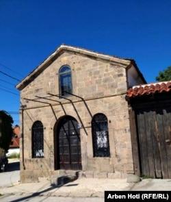 Sinagoga e zhvendosur te Muzeu Etnologjik.
