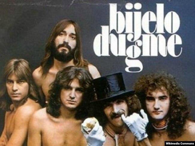 """Një nga posterët e grupit """"Bijelo Dugme""""."""