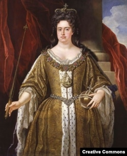 Уния Англии и Шотландии была заключена в царствование королевы Анны Стюарт