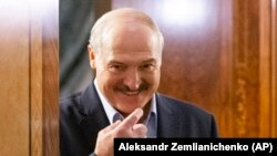 "Belarusian President Alyaksandr Lukashenka: ""I call this coronavirus nothing more than a psychosis."""