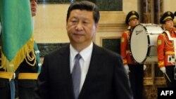 Президент Китая Си Цзиньпин в Ашгабате. 3 сентября 2013 года.