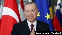 Претседателот на Турција, Реџеп Таип Ердоган.