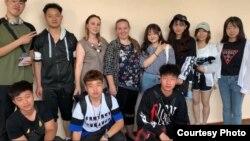 Китайские студенты в Адыгее