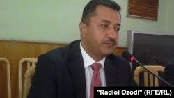 Раҳмон Асадулло, раиси Кумитаи радио ва телевизиони Тоҷикистон.