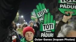 Romania - Marșul pentru Păduri, București, 3 noiembrie 2019
