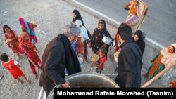 Food Distribution for Destitute – Kerman Province – Iran