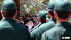 رهبر جمهوری اسلامی در دانشگاه امام حسین؛ از مراکز اصلی تربیت کادر افسری برای سپاه پاسداران
