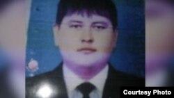 Фото Отабека Мамирбекова, размещенное на сайте ГУВД Ташкента.
