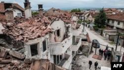 Pamje nga Kumanova pas aksionit të 11 majit 2015