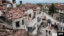 Kumanova pas përleshjes së armatosur