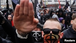 """""""Русский марш"""" в Москве 4 ноября 2013 года"""
