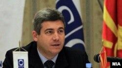 Претседателот на Антикорупциската комисија Ѓорѓи Сламков.