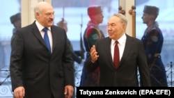 Բելառուսի և Ղազախստանի նախագահների հանդիպումը Մինսկում, 29-ը նոյեմբերի, 2017թ․