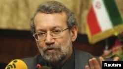 علی لاریجانی، رئیس مجلس شورای اسلامی.