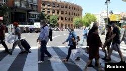 Իսպանիա - Վալենսիայի փողոցներից մեկում, մայիս, 2020թ.