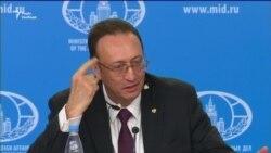 Емоційна реакція російського дипломата на дії Лондона (відео)