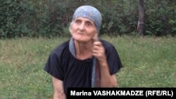 Liana Khurtsidze, birth mother of U.S. Paralympian Elizabeth Stone, in her native Dikhashkho (western Georgia)