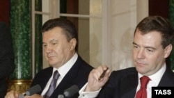Виктор Янукович и Дмитрий Медведев: вместе или врозь?