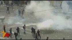 Աթենքում ոստիկանությունը արցունքաբեր գազ է կիրառել