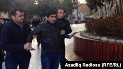 Участники акции протеста в Баку были задержаны милициией