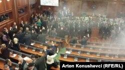 Parlament Kosova, 19. februara 2016 .