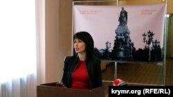 Олена Аксьонова, архівне фото